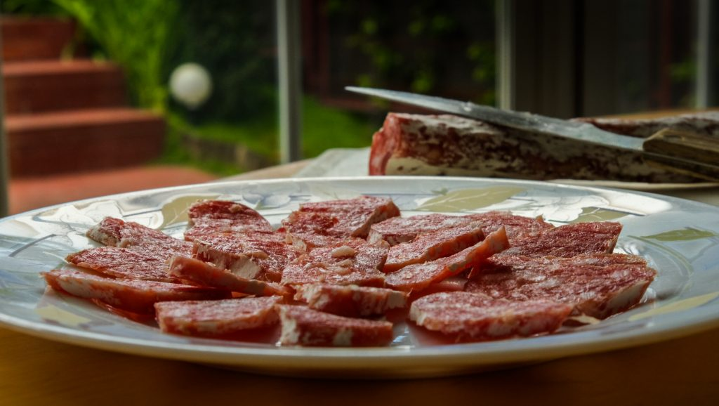 fuet-salami