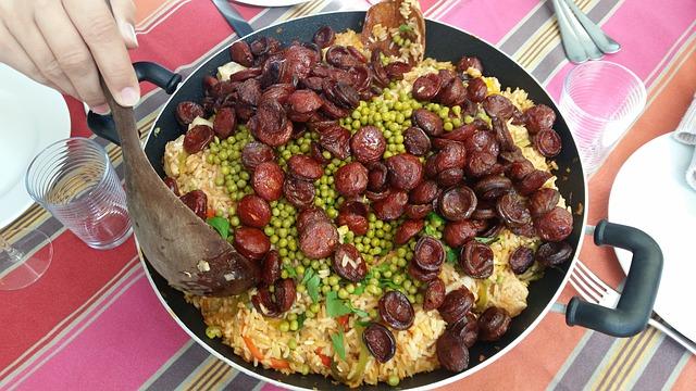 dishes-with-spanish-chorizo
